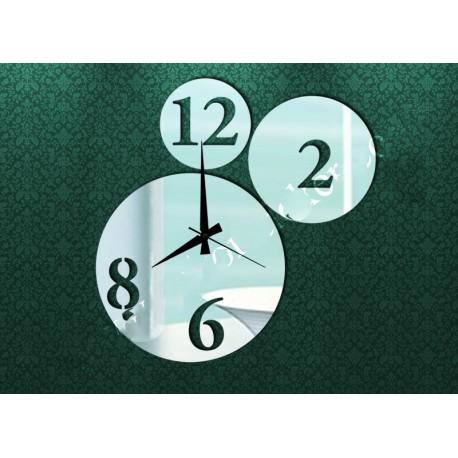 Nástenné hodiny do obývačky, 30x30 cm
