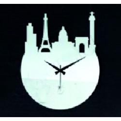 Nástenné hodiny moderné hrad hodiny na stenu zrkadlo 30 x 30 cm ZÁMOK