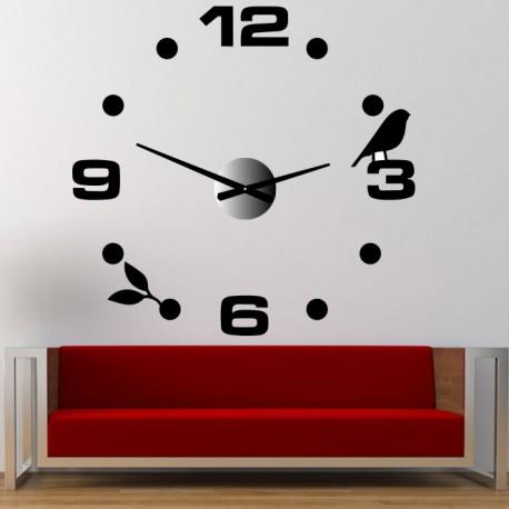 Nástenné hodiny line nalepovacie DIY Pohoda