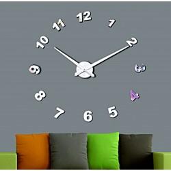 Nástenné hodiny zrkadlo. Nalepovacie hodiny zrkadlové čísla DIY NOSPEN