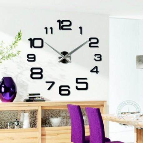 Nástenné hodiny veľké design hodiny DIY KULFOLD