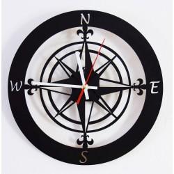 Nástenné hodiny svetové strany GUALD