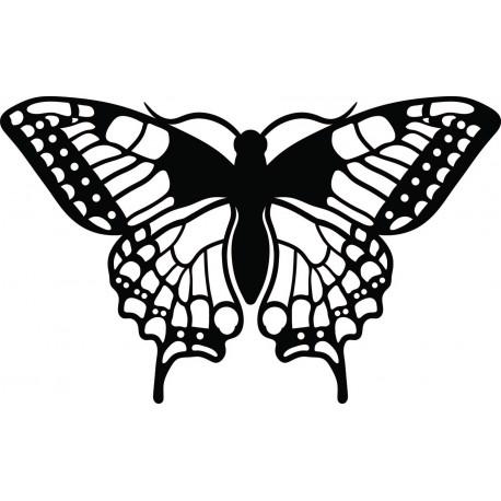 Nočný motýľ  vyrezávaný z drevenej preglejky L  420X 257 mm  LEOPARTID