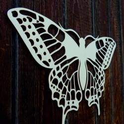 XL 750 X 459 mm  Nočný motýľ  vyrezávaný z drevenej preglejky LEOPARTID