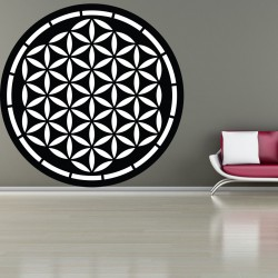 Mandala z dreva obraz na stenu dekorácia z preglejky  HARMONY