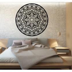 Mandala života okrúhla  drevený obraz na stenu z preglejky SUSEN
