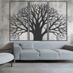 Drevený obraz na stenu  z drevenej preglejky strom pokoja  KAMOV