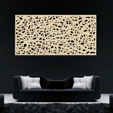 Drevený obraz na stenu z preglejky Topoľ Fľaky