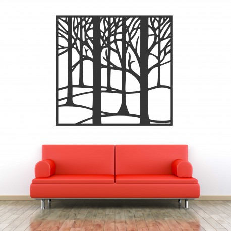 Obraz na stenu vyrezávaný z drevenej preglejky Topoľ LUBELA