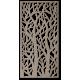 Obraz na stenu strom z drevenej preglejky Topoľ LÝDIA