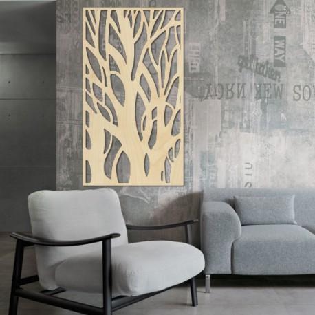 Obraz na stenu strom z drevenej preglejky Topoľ LÝDIA 2