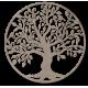 Dekorácia na stenu strom života drevený obraz z preglejky RODINA