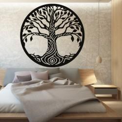 Obraz na stenu strom z topoľ preglejky BIDHIA