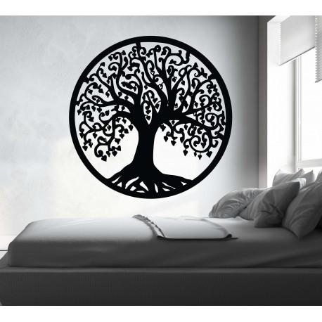 Obraz na stenu strom z drevenej topoľovej preglejky  RADOST