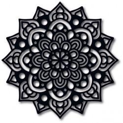 STYLESA moderný obraz na stenu z dreva preglejky ODRODIL čierny