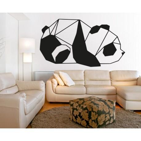 SENTOP Vyrezávaný obraz na stenu medveď PR0242 čierny