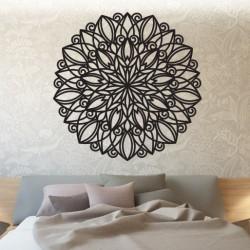 STYLESA Mandala drevený obraz na stenu z preglejky HARMONY PR0246 čierna