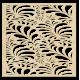 Vyrezávaný obraz na stenu z drevenej preglejky kvet LUPENE