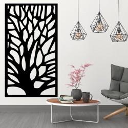 Obraz na stenu vyrezávaný z drevenej preglejky strom GUTE
