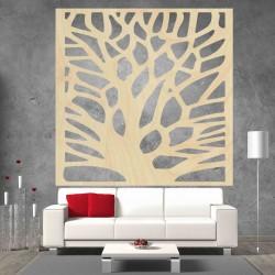Vyrezávaný obraz na stenu z drevenej preglejky strom ORECH