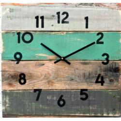 Drevené hodiny na chalupu DEDKO (nástenné hodiny)