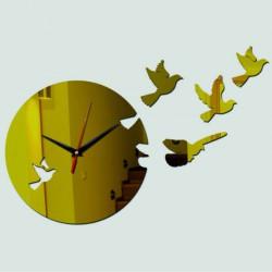 Nástenné hodiny holubica  DIY HILPKO