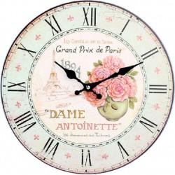Drevené hodiny GRAND PRIX 34 cm