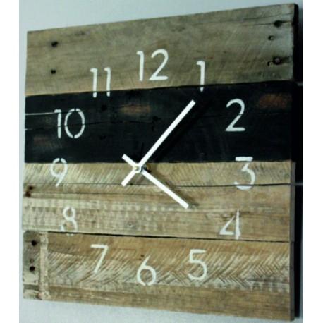 Drevené nástenne hodiny