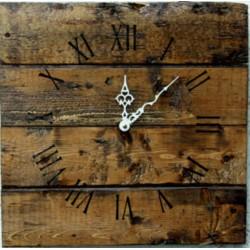 STYLESA Drevené hodiny na stenu 12D40106 PALISER hnedé