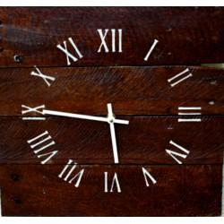 Drevené hodiny na stenu RIMSKE