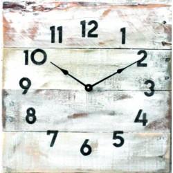 Nástenné hodiny z masívneho dreva na vašu chatu ALLIAS