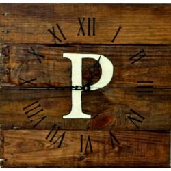 Drevené hodiny na stenu PERSIL