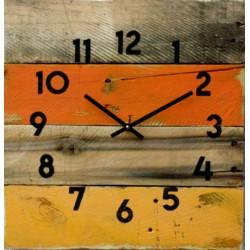 Drevené hodiny zvoní vstávaj .