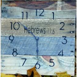 ŠTÝLOVÉ drevené nástenné hodiny