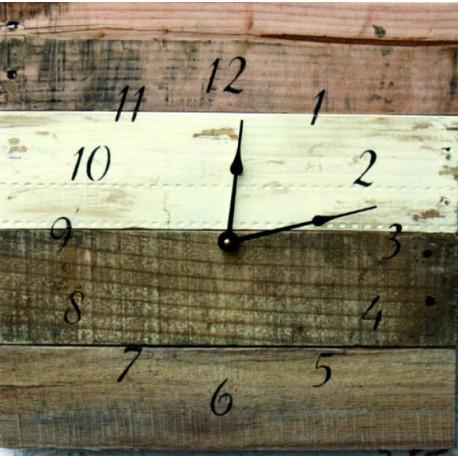 Drevené hodiny na chatu ,hodiny na stenu, hodiny z dreva