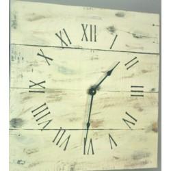 Drevené hodiny  rímske čísla POHODA