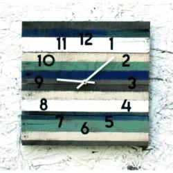 Farebné nástenné hodiny - štýlove 3D nalepovacie hodiny na stenu ... 471ab1f5e36