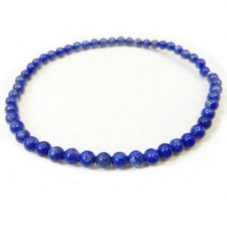 Náramok na ruku - Lapis lazuli - FI 4 mm