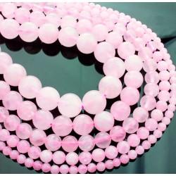 Gulička, šperky z léčivých kamenů obchod a prodej | X-MOMO Rose Quartz Loose Beads